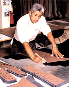 Italian Leather manufacturing process, same quality as our old tradition, ...